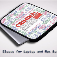 criminal minds quotes X1662 Sleeve for Laptop, Macbook Pro, Macbook Air (Twin Sides)