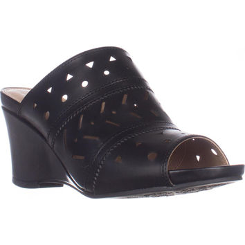 naturalizer Neha Wedge Mule Sandals - Black