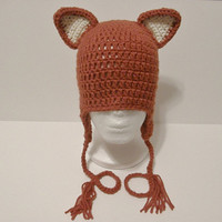 Childrens Fox Hat