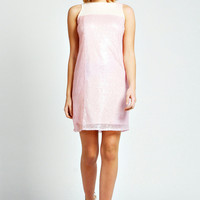 Louise Colour Block Sequin Shift Dress