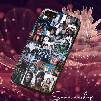 Hard,core,music,pierce the veil,collage/CellPhone,Cover,Case,iPhone Case,Samsung Galaxy Case,iPad Case,Accessories,Rubber Case/8-5-1