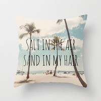 Hawaii Throw Pillow by Retro Love Photography
