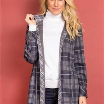 Bonfire Plaid Jacket by Simply Noelle