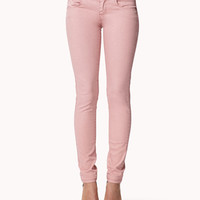 Double Pocket Skinny Jeans