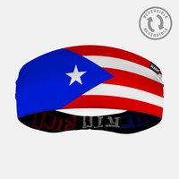 Puerto Rico Flag Double Sided Headband
