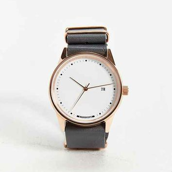 HyperGrand Maverick Grey Leather Watch