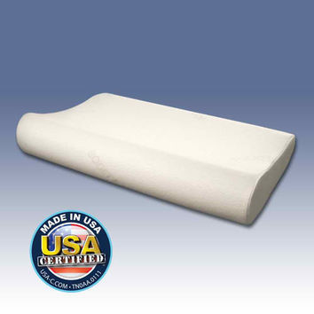 Outlast Gel Memory Foam Side Sleeper Pillow