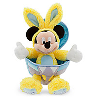 Mickey Mouse Easter Egg Plush - 9'' H