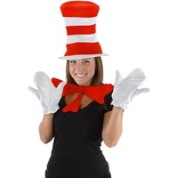 Dr. Seuss The Cat in the Hat Costume - Adult (Black)