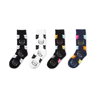 Feline Color Cat Set [4 Sock Set.]