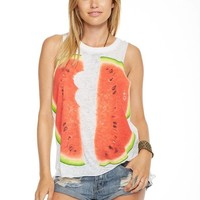 Chaser - Reflected Melons Muscle Tee