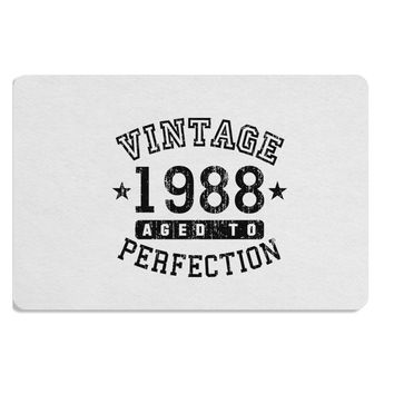 30th Birthday Vintage Birth Year 1988 Placemat by TooLoud