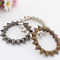 Spiked Elastic Stretch Bracelets FREE SHIPPING usa