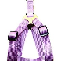 Hamilton Adjustable Easy-On Step-In Style Dog Harness, 3/4-Inch by 20-30-Inch, Medium, Lavender