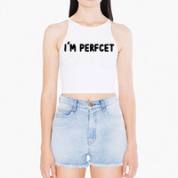 I'm Perfect Sleeveless Crop - Shop Jeen - powered by Hingeto