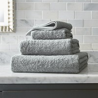 Egyptian Cotton Grey Bath Towels