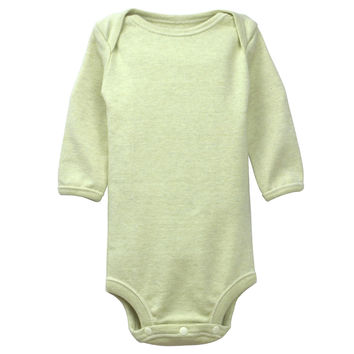 Long Sleeve Organic Onesuits Olive