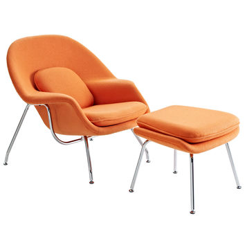 Eero Womb Chair, Orange