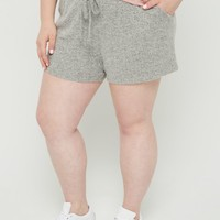 Plus Gray Cozy Short | Plus Lounge | rue21