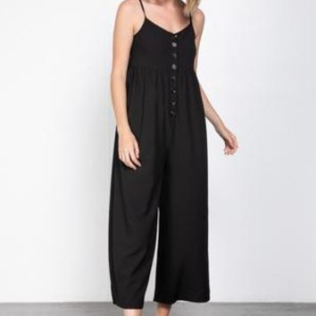 Strap Sleeves Jumpsuits