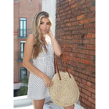 White Lies Romper
