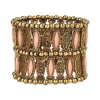 Filigree Beaded Bracelet | FOREVER 21 - 1000040663
