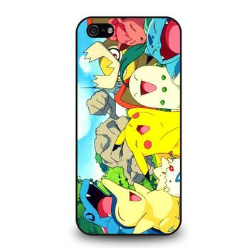 POKEMON CHARACTER iPhone 5 / 5S / SE Case Cover