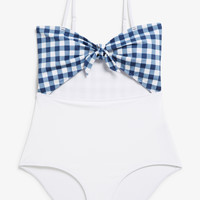 Monki | View all new | Cut out swimsuit