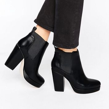 ASOS EARTH Chelsea Ankle Boots at asos.com