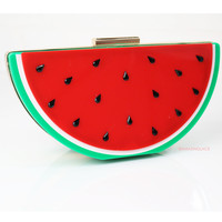 Picnic At The Park Watermelon Purse