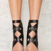 Lust for Life Whip Leather Heel