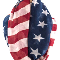 American Flag 'Infinity' Fall Scarf