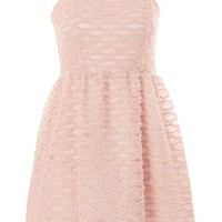 Tulle Trim Mini Prom Dress - New In Fashion - New In