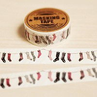 Christmas Stocking Washi Tape