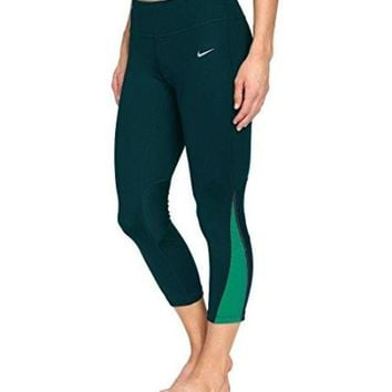 CREYON Nike Women's Power Compression Dri-Fit Tights Turquoise Teal 749457 346 (S)