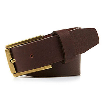 Class Club Brown Jean Belt - Brown/Black