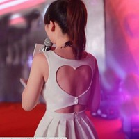 doshow — Heart Shaped Back Party Dress