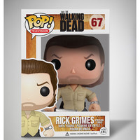 Funko The Walking Dead Prison Rick Pop Figure