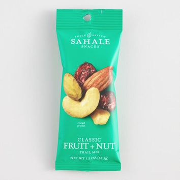 Sahale Classic Fruit and Nut Mix Snack Size Set of 9