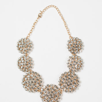 Vera Crystal Statement Necklace