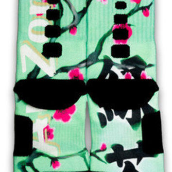 Arizona Green Tea Nike Custom Elite Socks