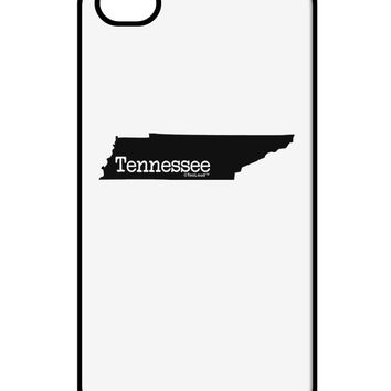 Tennessee - United States Shape iPhone 4 / 4S Case  by TooLoud