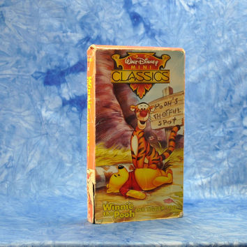 Vintage Winnie The Pooh And Tigger Too 1992 Walt Disney MINI Classics VHS Tape