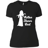Mother Knows Best - A Gift For Mother's Day Tshirt  - mother's day
