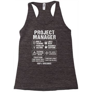Project Manager Racerback Tank