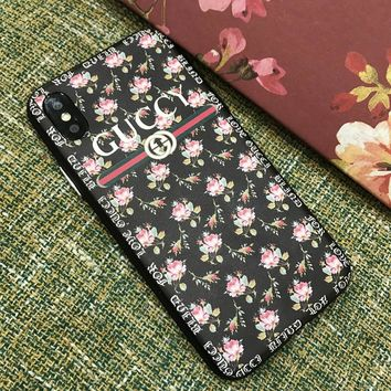 GUCCI Hot ! iPhone X iPhone 8 plus - Stylish Cute On Sale Hot Deal Apple Matte Couple Phone Case For iphone 6 6s 6plus 6s plus