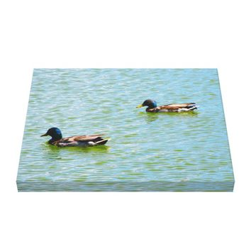 Ducks Wrapped Canvas