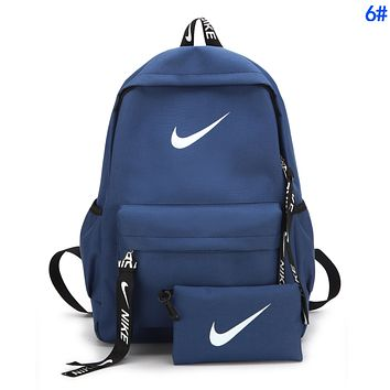 NIKE Popular Women Men Casual Daypack Travel Bag Backpack Shoulder Bag School 6#