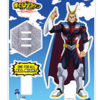 Boku No Hero Academia The Two Heroes Toho Animation Limited Edition All Might Acrylic Stand Costume Version