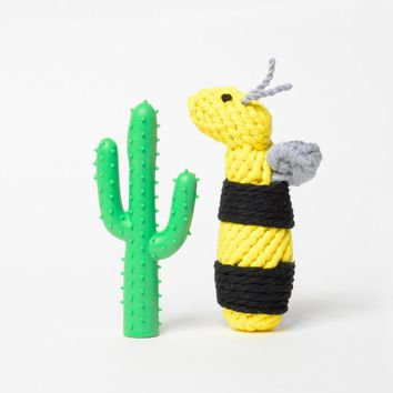 Busy Bee Dog Toy Set